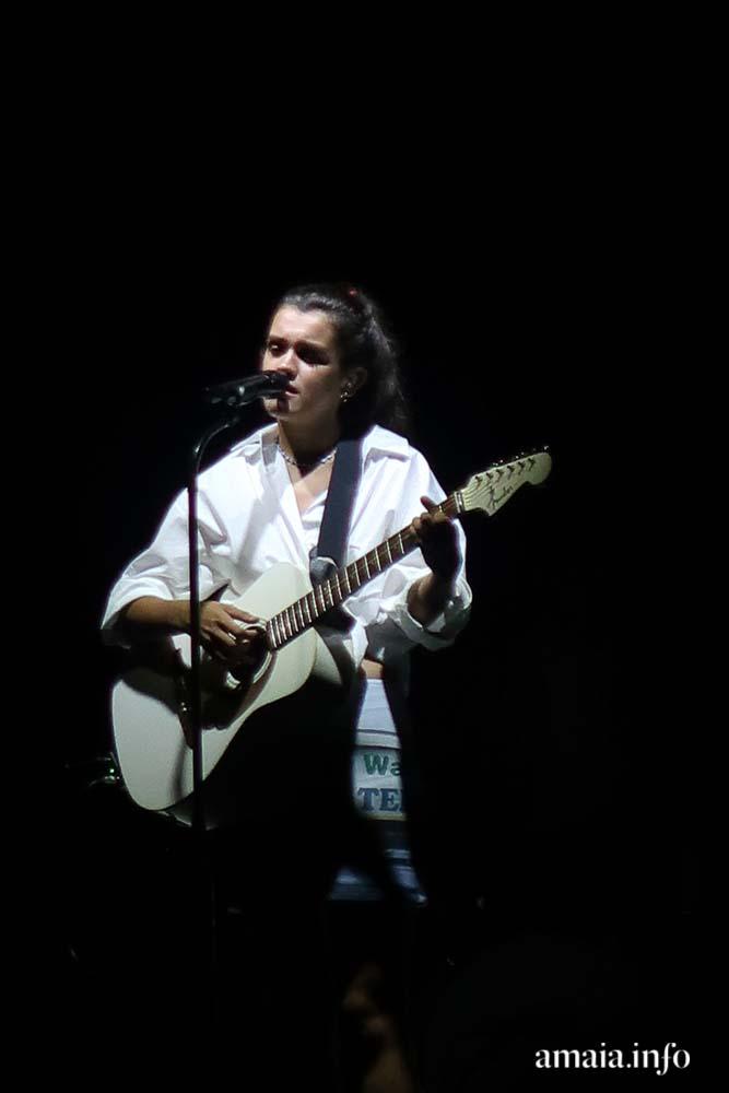 Amaia encandila a la Ciudadela y canta a San Fermín